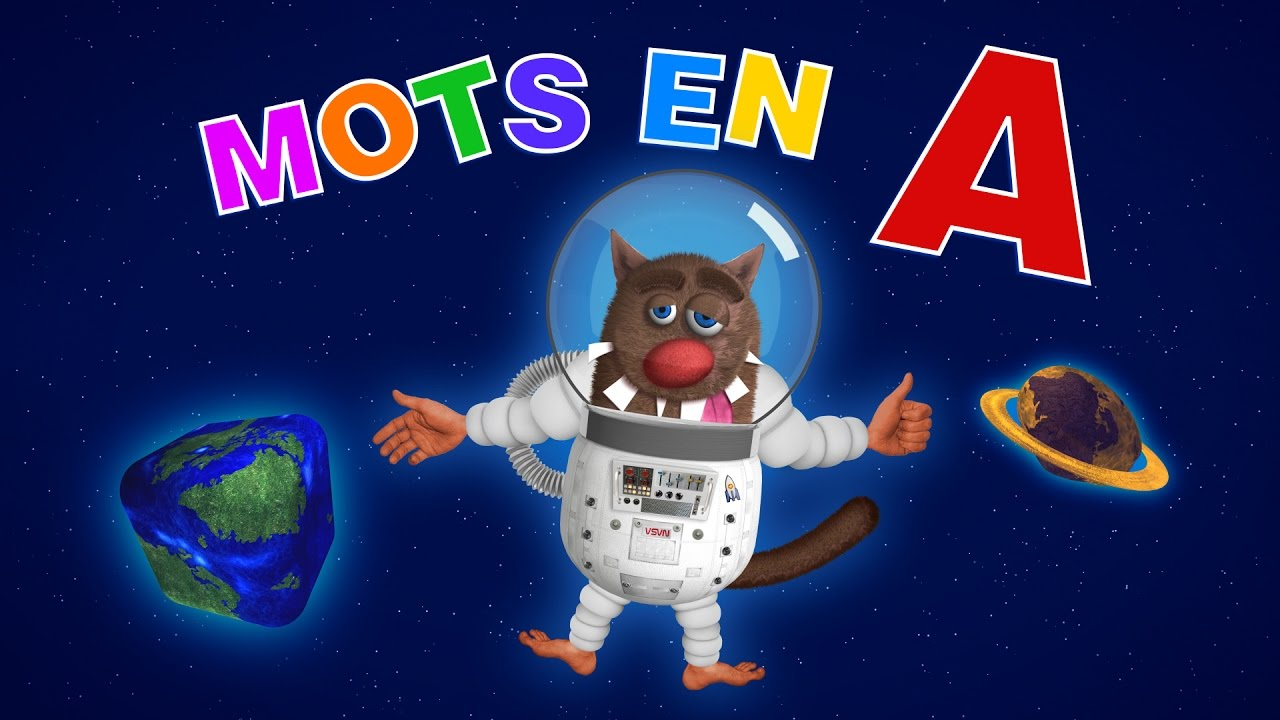Foufou les mots commen ant par a learn words starting with a for kids 4k youtube - Mot commencant par phy ...
