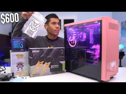 $600 Gaming PC Build - i3 8100 GTX 1050 (w/ Benchmarks) Coffee Lake