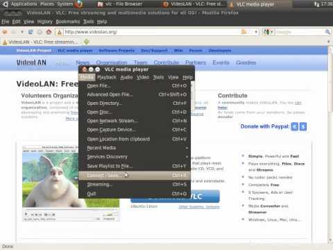 Конвертация видео при помощи VLC