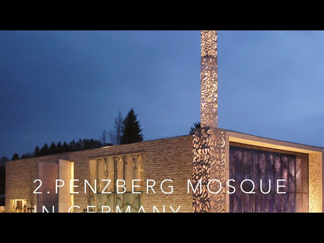 Top 6 most modern beautiful mosques in Europe