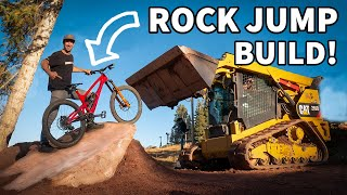 Rock Jump Build and Ride at Woodward Park City with Nate Wessel, Jeremy Jones, and Eric Porter!