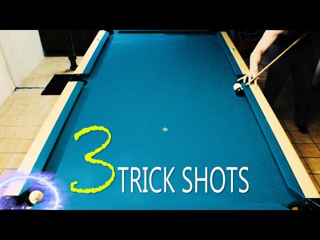 3 Pool Trick Shots: Volume 9