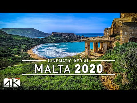 【4K】Amazing MALTA From Above 2020 | Cinematic Wolf Aerial™ Drone Film
