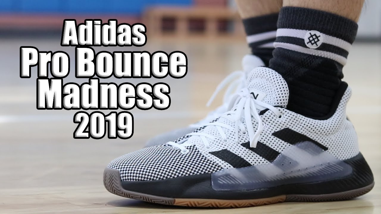 856938b6b68c Adidas Pro Bounce Madness 2019 Performance Review - YouTube