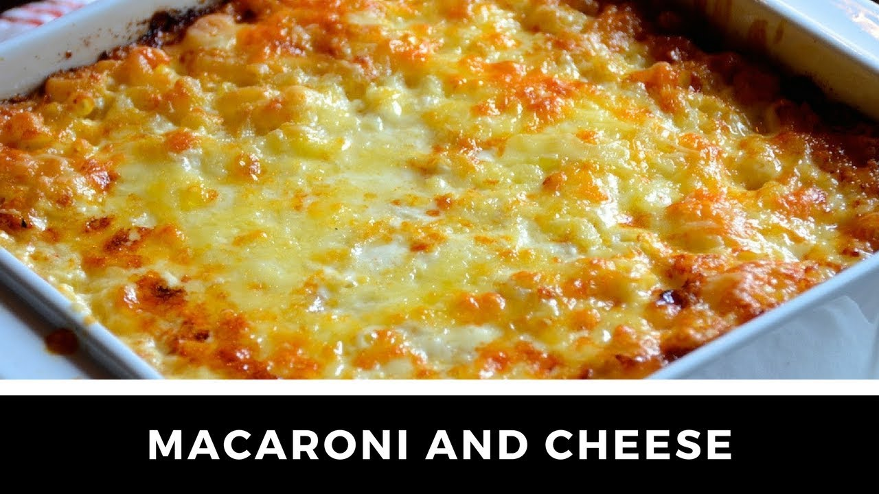 The Ultimate Macaroni And Cheese Recipe Youtube