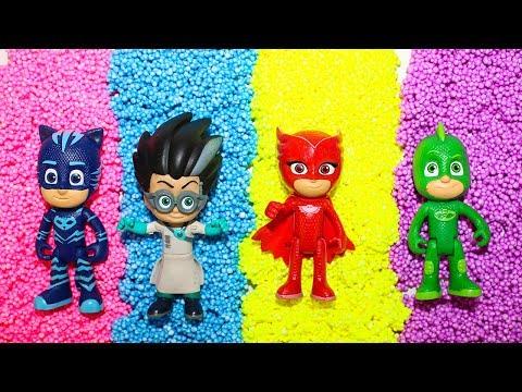 Герои в масках Игрушки Мультики для детей Учим цвета PJ Masks toys Best Learn colors Video for kids