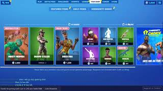 Fortnite Live Item Shop Countdown 12 Sept 2019 / New Leaked Skins / Voting / Fortnite Battle Royale