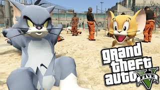GTA 5 Mods - TOM AND JERRY GO TO PRISON MOD (GTA 5 Mods Gameplay)
