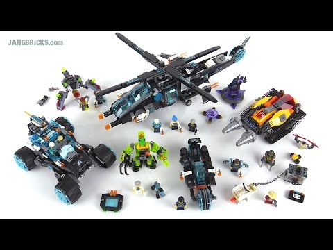 LEGO Ultra Agents: All five 2015 sets together, wrap-up!