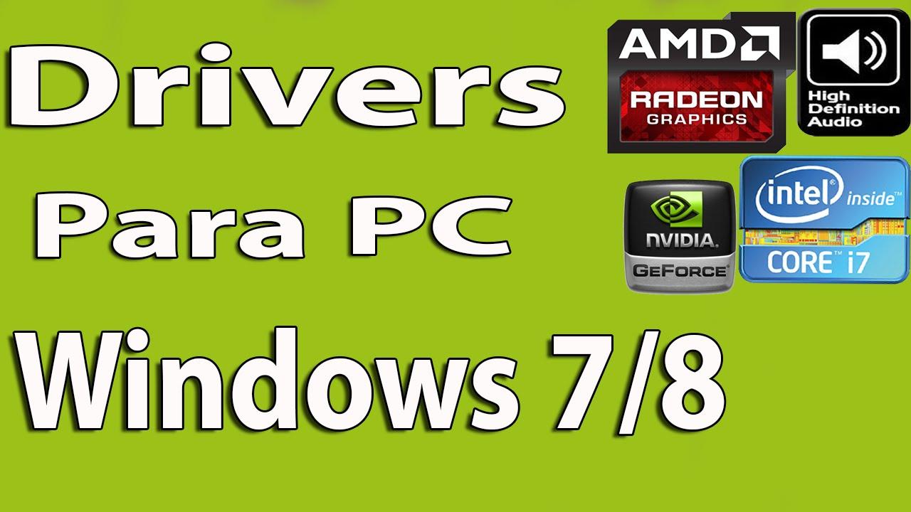 descargar pack de drivers para windows 7 professional 64 bits