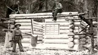 How To Build A Pioneer Log House With $300 in Less Than a Month