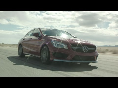 2014 Mercedes-Benz CLA45 AMG Review - TEST/DRIVE