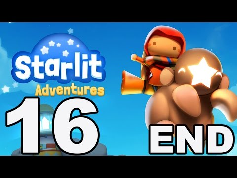 Starlit Adventures - Gameplay Walkthrough Part 16 - Stages 61-64 [Final Boss] Ending (iOS, Android)