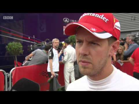 2015 Belgium - Post-Race: BBC Sebastian Vettel angry after sudden blown tyre