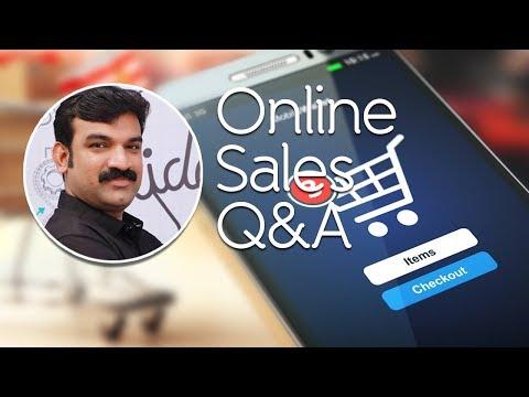 Online Sale Through Instamojo Q & A Live