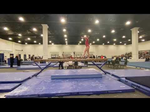 Kimberly Smith - Beam San Diego Classic 9.3 ~ 1st 2020 // 2022