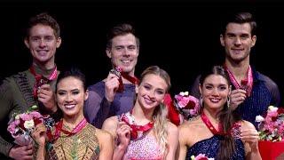 Церемония награждения. Танцы. Shiseido Cup of China. Гран-при по фигурному катанию 2019/20