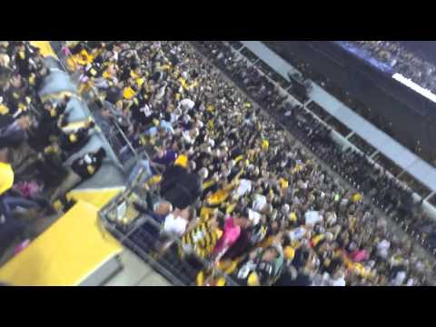 Fans Perspective On Game Winning Field Goal In Rival Territory! (October 1, 2015 Ravens at Steelers)