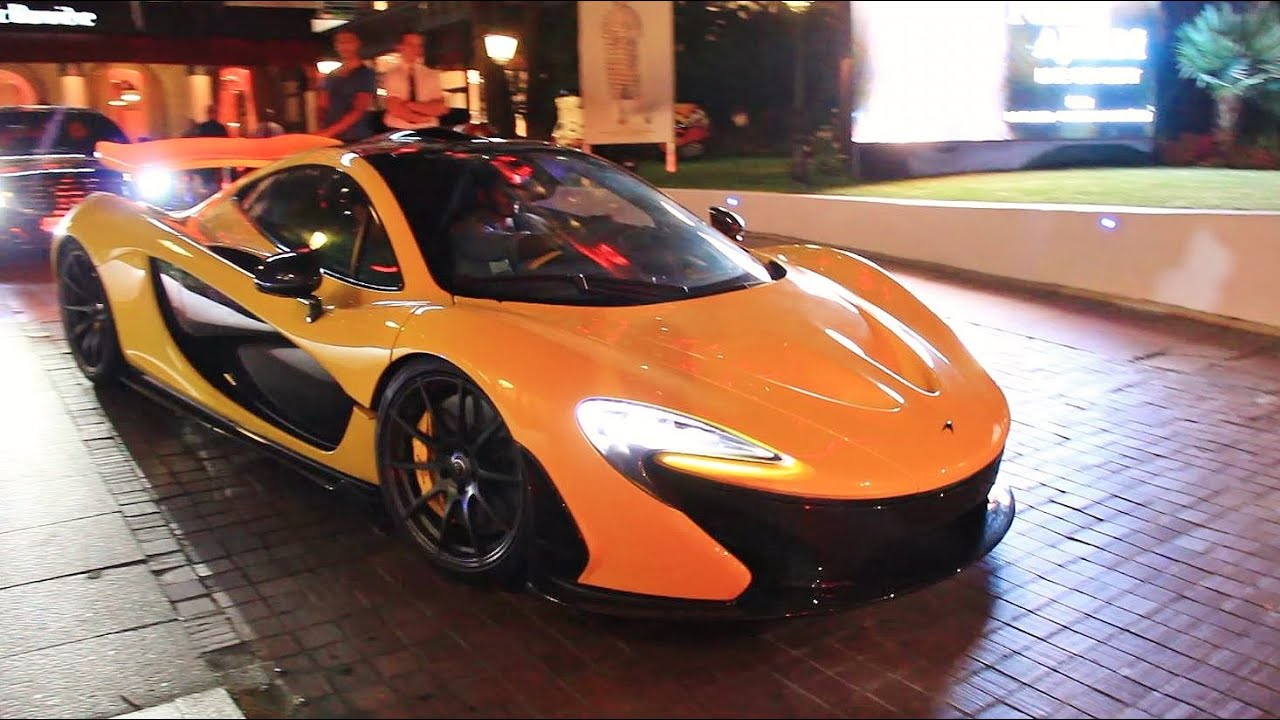 mclaren p1 driving sound in cannes! - youtube