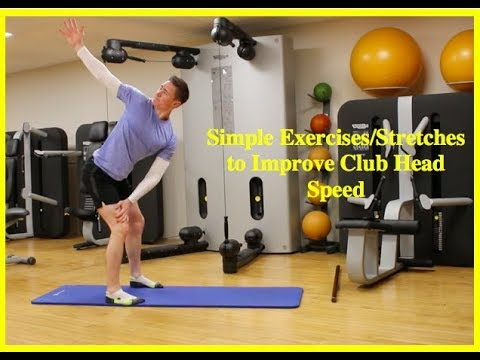Golf Fitness: Simple Exercises/Stretches for Golfers