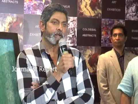 Actor Jagapathi BAbu comments on Arts Painting at Private Function