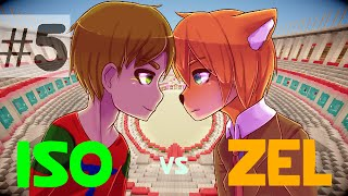 Minecraft - Iso VS Zel - Episode 5 : Minegicka 3 !