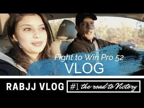 RABJJ Vlog 1 || Ricardo Almeida Fight to Win Pro 52