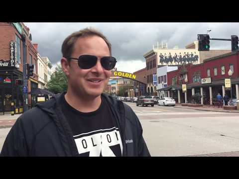 DENVER COLORADO - MILE HIGH CITY -Tour and Vlog