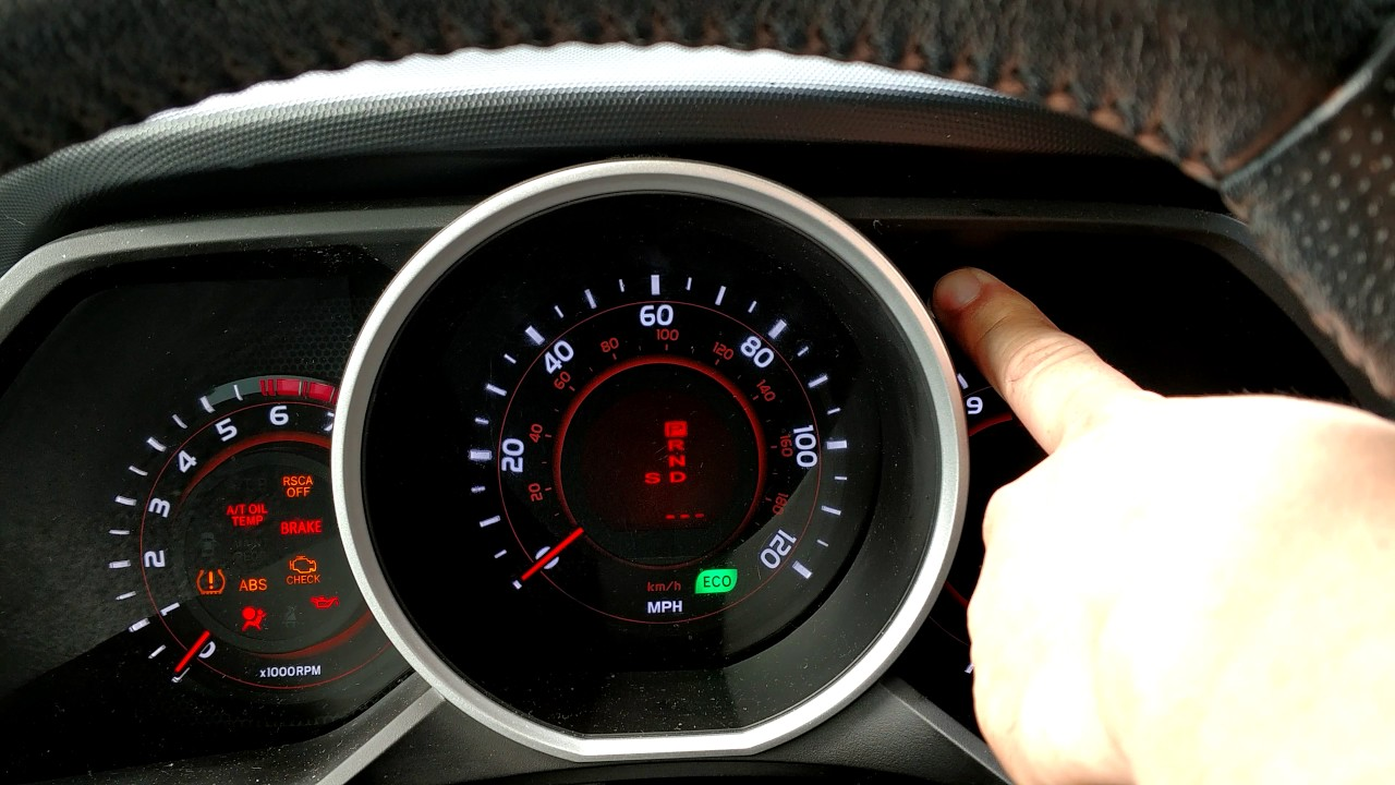 Blinking Tire Pressure Light