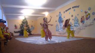 """Восточный танец для детей детского сада """"Восточные сказки""""."""