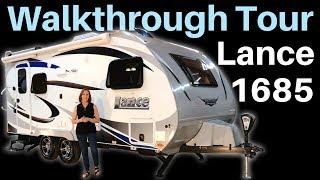 2019 Lance 1685 Travel Trailer Walkthrough Tour