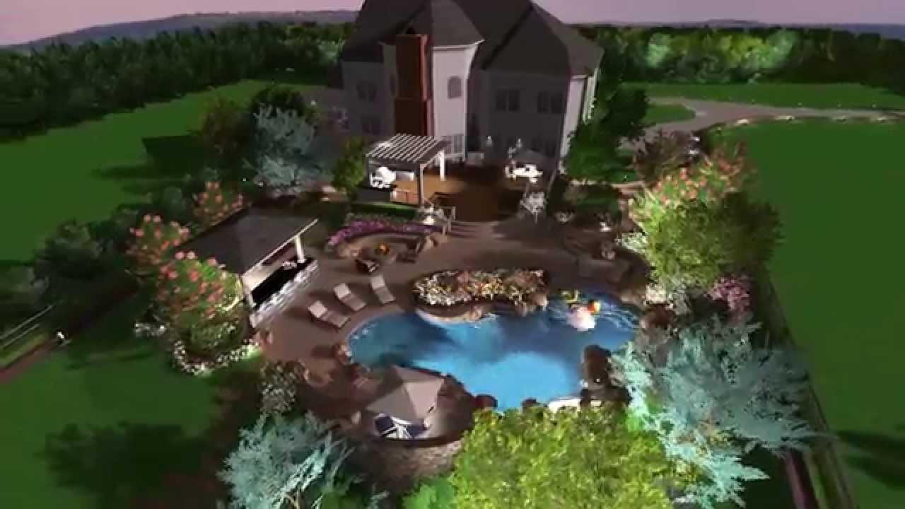 Natural Swimming Pool Loudoun County Virginia Youtube