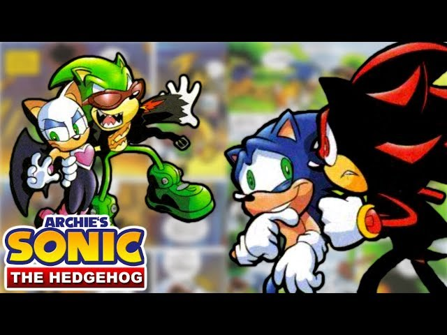 Archie Sonic - Theres a new kid in town! Scourge the EVIL Hedgehog