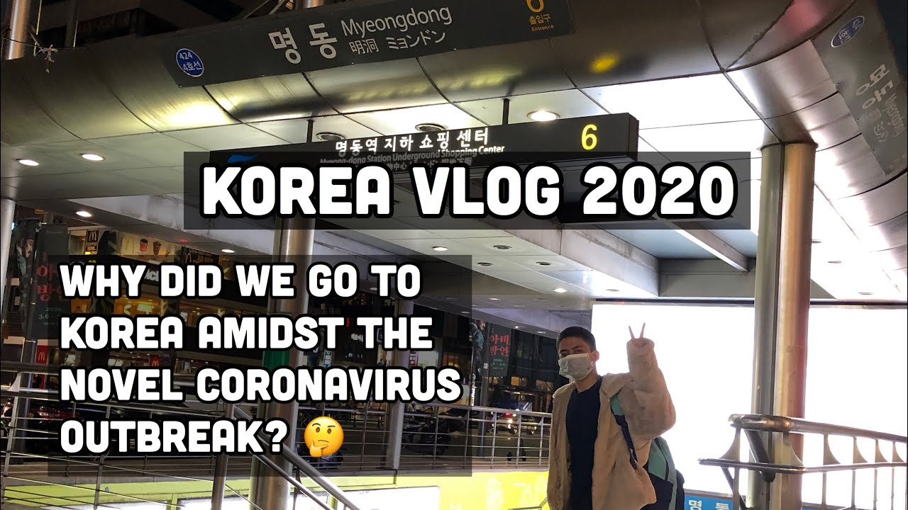 KOREA VLOG 2020 (FIRST TRIP TO KOREA!)