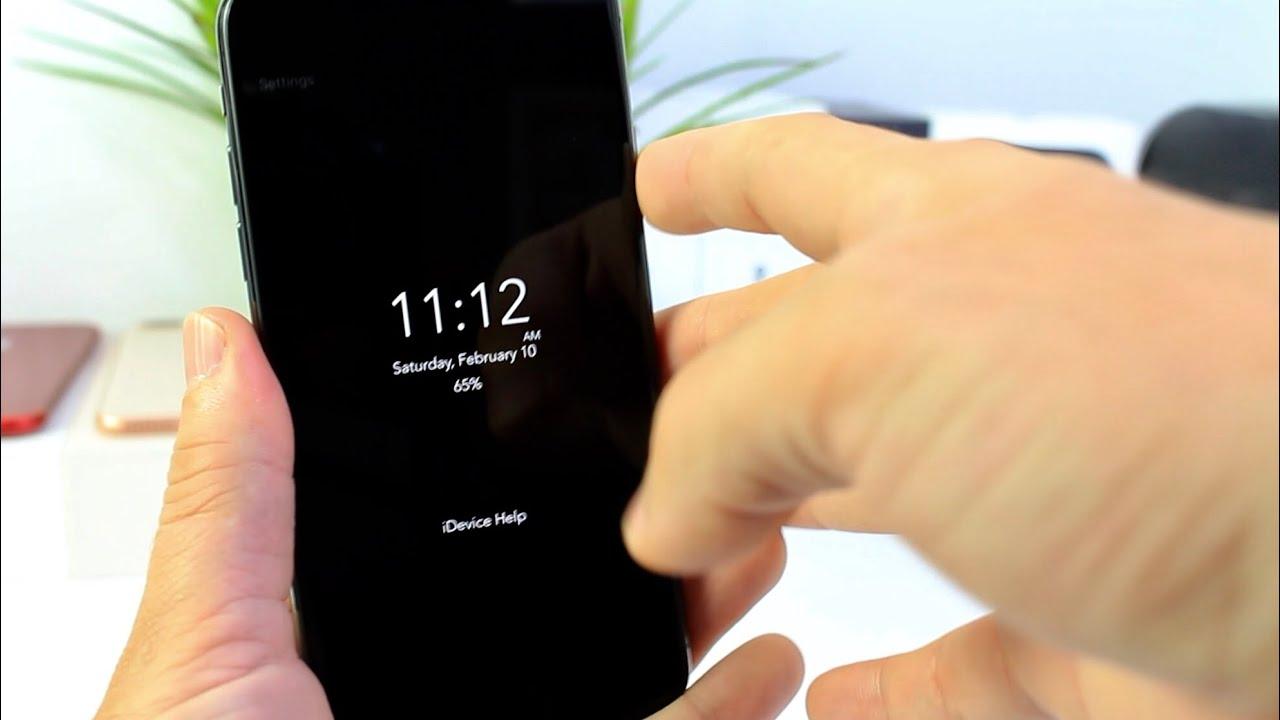 Display Lockscreen On Iphone X
