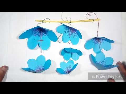 Paper Flower wall Decoration Diy wall Decor Ideas Paper Craft paper Flower, ,,,,