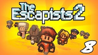 The FGN Crew Plays: The Escapists #8 - Digging has started (PC)