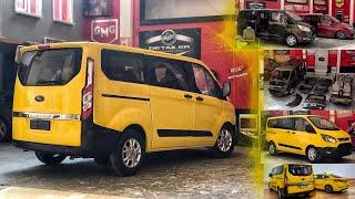 1:18 Ford Custom Kaplama | Ticari Taksi Projesi | Diecast Model
