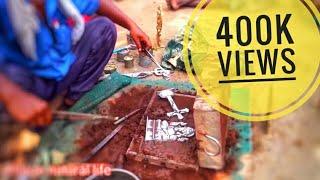 சாமி சிலை செய்யும் நேரடி காட்சி
