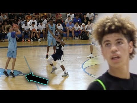 This is WHY LAMELO BALL is the BEST SCORING BALL BROTHER! Full Adidas Championship Highlights