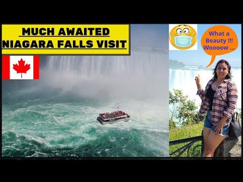 NIAGARA FALLS 2020 | POST LOCKDOWN TRIP | LIFE IN CANADA | CANADA VLOG | DAY TRIP | ONTARIO | 😷🇨🇦 😍