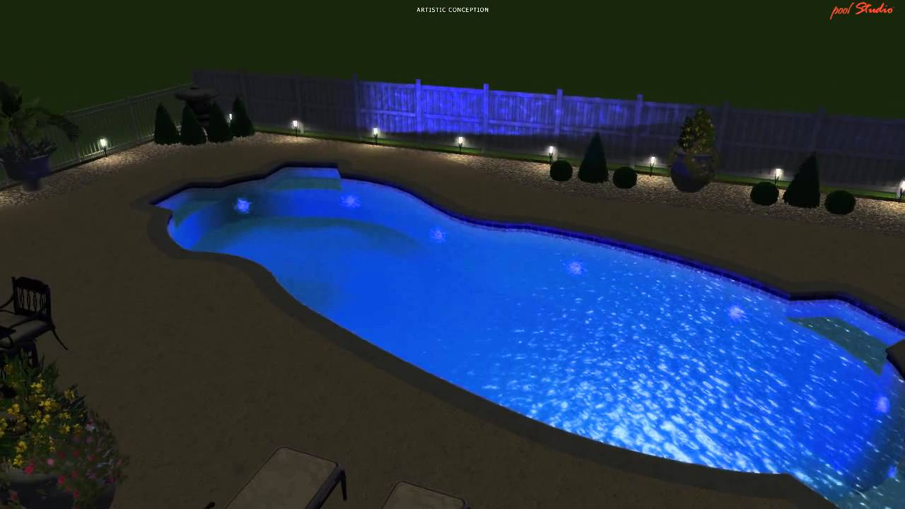 Largest Fiberglass Pool Youtube