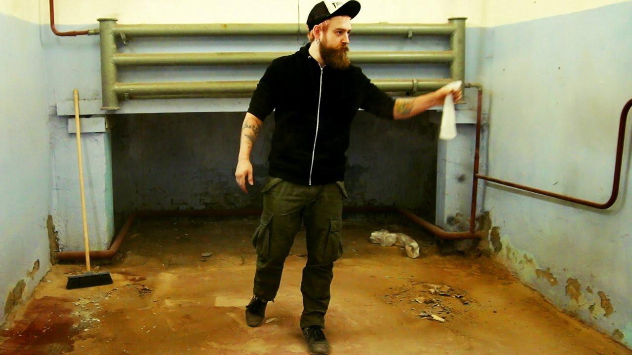 Ремонт пола в мастерской своими руками