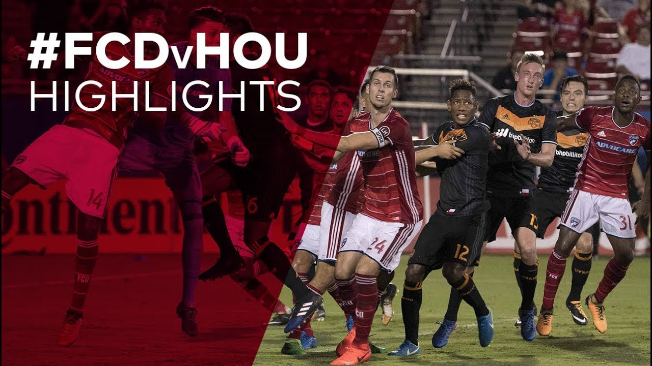 HIGHLIGHTS: FC Dallas 0, Houston 0 | 05 28 17 - video