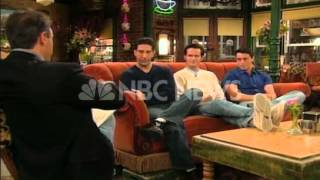 The guys from 'Friends' talk about the success of the show