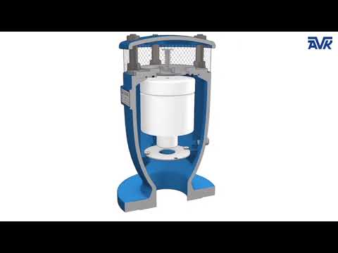AVK Anti-Water Hammer Combination Air Valve for Water