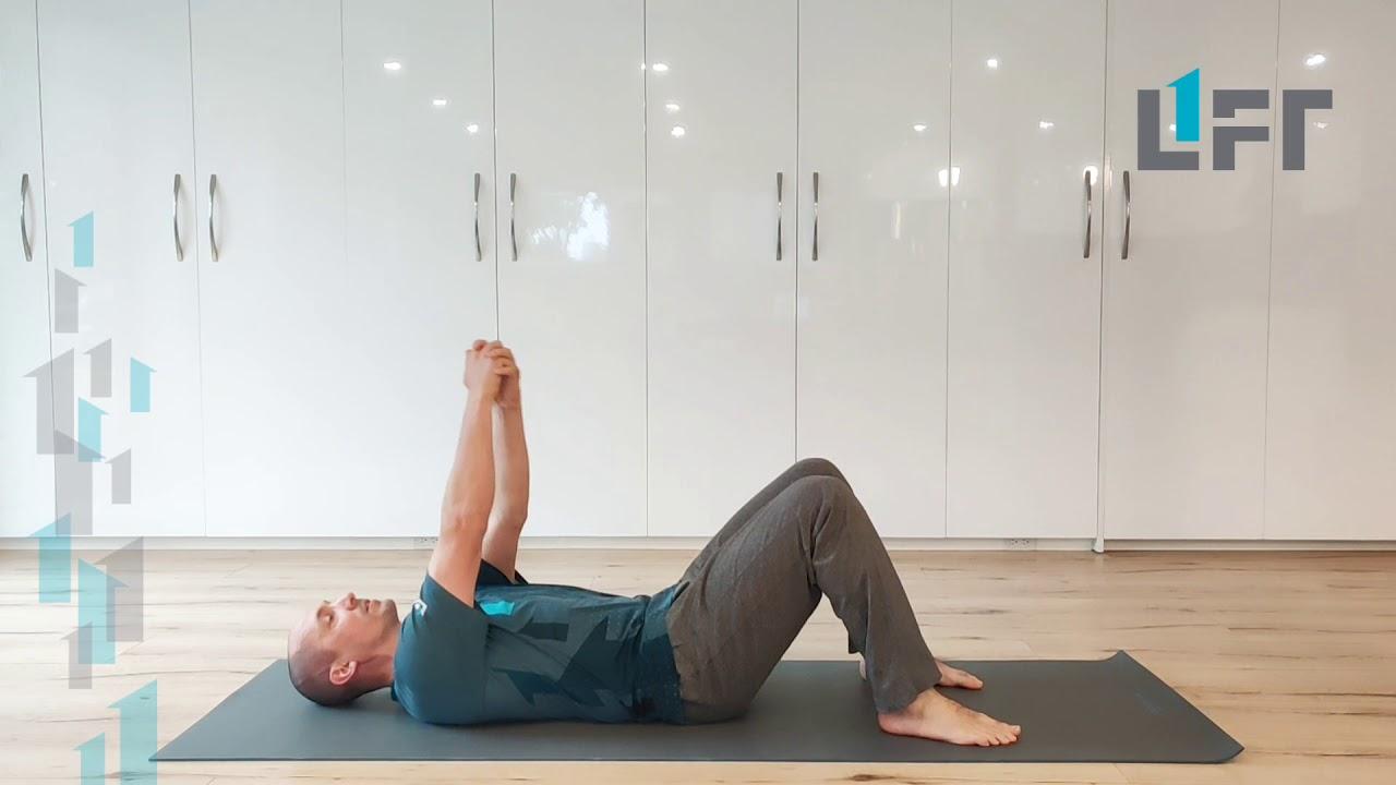 Active assisted shoulder range of motion in supine - a ...