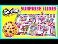 SHOPKINS Surprise Slides GAME!  NEW SHOPKINS TOYS!  Fun Games YouTube Video For Kids