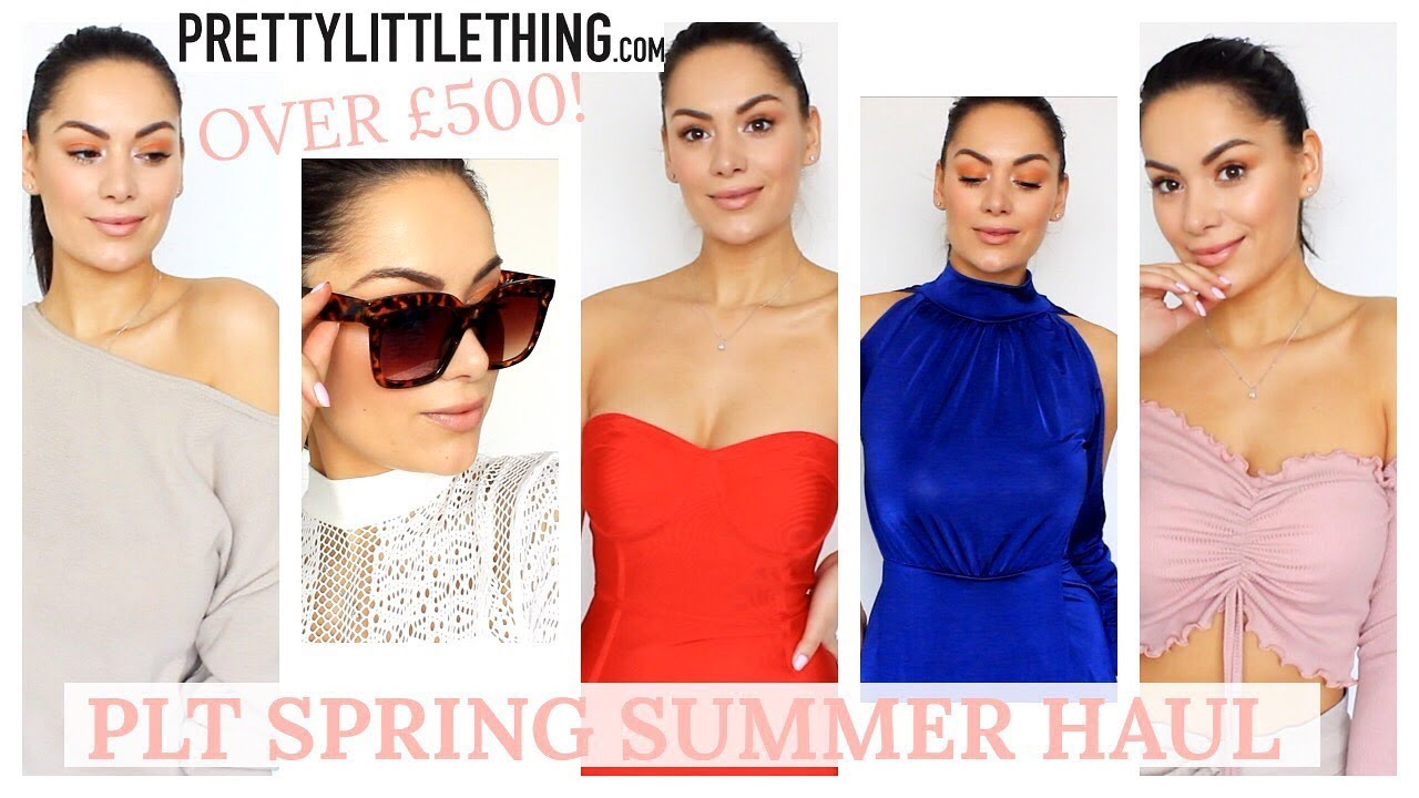 bf7034fddfe7 HUGE PRETTY LITTLE THING HAUL - SPRING SUMMER 18
