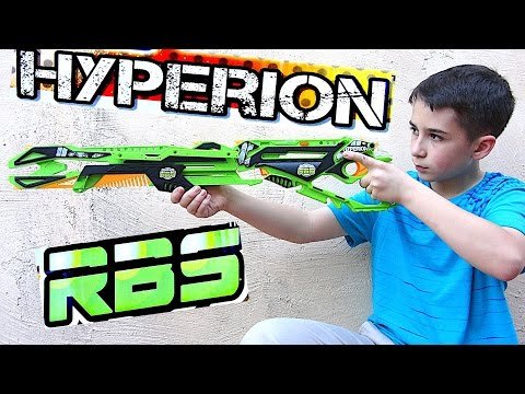 Precision RBS Rubber Band Launcher - Hyperion with Robert-Andre!